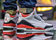 http://SneakersCartel.com Nike Air Jordan III 'Fire Red' (by Malcolm Cruz Moran) #sneakers #shoes #kicks #jordan #lebron #nba #nike #adidas #reebok #airjordan #sneakerhead #fashion #sneakerscartel https://www.sneakerscartel.com/nike-air-jordan-iii-fire-red-by-malcolm-cruz-moran/