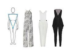 blusas para cuerpo triangulo invertido - Buscar con Google                                                                                                                                                                                 Más