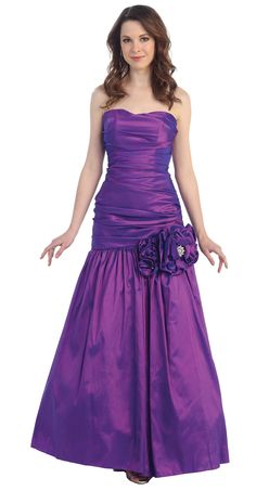 Evening Dress<BR>Ball Dress under $80<BR> 1215<BR>  Dazzling Jewel!