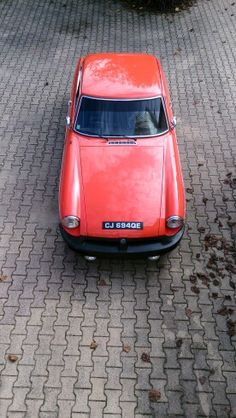 MGB GT. My car...!