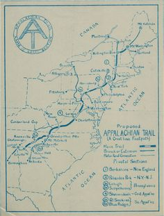 76 Best Appalachian Trail History images