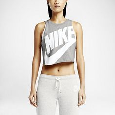 Nike Track And Field Cropped Sleeveless Women's Top