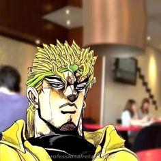 he is having dinner meal Jojo's Bizarre Adventure Anime, Jojo Bizzare Adventure, Manga Girl, Manga Anime, Jojo Videos, Jojo Anime, Manga Poses, Jojo Memes, Manga Illustration