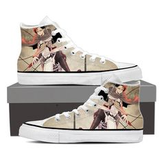 Levi With Blade Attack On Titan Shoes