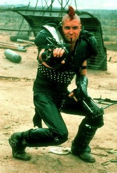 Vernon Wells as Wez in Mad Max 2 The Road Warrior, Chernobyl, Mad Max 2, The Road Warriors, Post Apocalyptic Fashion, Mad Max Fury Road, Westerns, Mel Gibson, Post Apocalypse, Actors