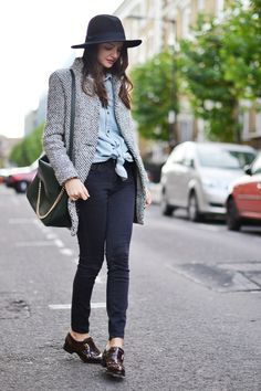 Style Lovely: Dandy Woman.  Cute outift for transitioning to Spring.