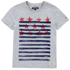 Tommy Hilfiger Mottled grey T-shirt Grey - 58873 | Melijoe.com