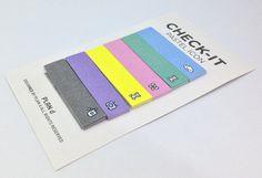 Check it Stick Memo Stick Note Kawaii van LethbridgeCards op Etsy
