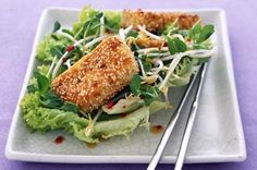 I have been looking for a sesame tofu recipe since trying it at Wholefoods on our holiday to America. I will definitely be making this!