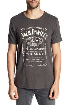 44f33833 Jack Daniels Black Label Graphic Tee Jack Daniels Black Label, Lucky Brand,  Nordstrom Rack