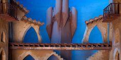 Pieza de decorado teatro
