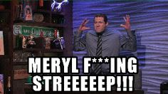 """When Billy Eichner got to meet his hero Meryl Streep. 