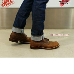 red wing 8115 #ptc #ptcmart #redwing #redwingshoes #redwingheritage #shoecare