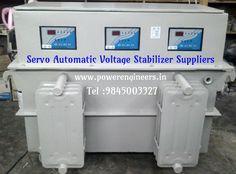 Buy high quality  stabilizers from #ServoAutomaticVoltageStabilizerSuppliers. #Powerengineers provide #OilCooledServoStabilizersInIndia.
