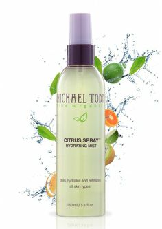tone your skin, or just give yourself a pick-me-up, with this wonderful citrus spray from Michael Todd #toner #skincare #michaeltodd #organic http://www.michaeltoddtrueorganics.com/product-type/toners/citrus-face-mister.html/?acc=812b4ba287f5ee0bc9d43bbf5bbe87fb&bannerid=6
