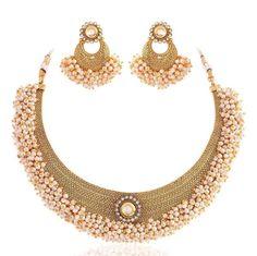 Masterclass Gold plated kundan set Image