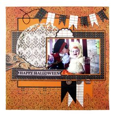 Happy Halloween featuring the Black Widow Collection from We R Memory Keepers - Scrapbook.com