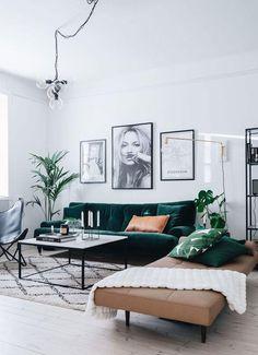 Furniture Living Room : Sanki tabiattan bir parça siyah kahverengi ve yeşil uy. - Furniture Living Room : Sanki tabiattan bir parça siyah kahverengi ve yeşil uyumu Like part of na - Home Interior Design, Room Inspiration, House Interior, Living Room Inspiration, Home, Interior Design Living Room, Interior, Beautiful Living Rooms, Room Interior
