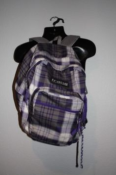 1f9acbcc8010 Jansport-Trans-Backpack-Plaid-purple-white-gray