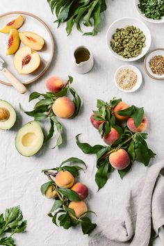 Fresh Peach Avocado