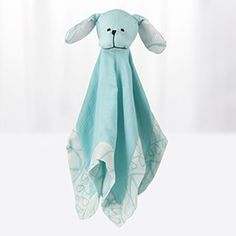 Babies love to snuggle our blue puppy silky soft musy mate lovey security blanket made with machine washable rayon from bamboo muslin. Aden Et Anais, Baby Registry Essentials, Cool Comforters, Baby Comforter, Baby Swaddle, Security Blanket, Soft Blankets, Baby Love, Baby Gifts