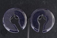 """Blue Sandstone Stone Keyholes 2 sizes: 12x38mm; 5/8"""" min 10x38mm; 1/2"""" min From People's Jewelry: People's Jewelry is a wholesale jewelry company located in Upland, CA. We specialize in hand-carved and crafted jewelry made from organic materials. We work with stone, wood, glass, mother of pearl, and also surgical implant titanium. Our goal is to get you the jewelry that you desire! We love to help our customers find what they are looking for, if you don't see something you lik Face Piercings, Body Piercing, Quartz Stone, Rose Quartz, Organic Plugs, Hand Wrist, Jewelry Companies, Wholesale Jewelry, Body Jewelry"""