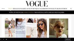 HOME tee on VOGUE