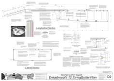 Dreadnought 12-String Guitar Plans: Electronic Version