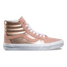 2-Tone Metallic SK8-Hi Reissue Shoes | Vans