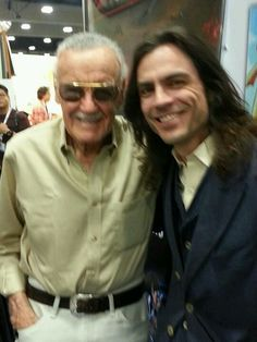 Weezer comicon with Stan Lee