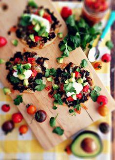 Mexico: Chipotle Spiced Lamb & Kale Tostadas
