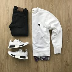 New Sneakers Fashion Men Streetwear Outfit Grid Ideas Stylish Mens Outfits, Swag Outfits, Dope Outfits, Casual Outfits, Fashion Mode, Urban Fashion, Mens Fashion, Teen Boy Fashion, Hipster Fashion