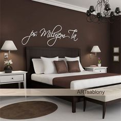Nálepka na stenu v predaji tu: http://artsablony.sk/t…/3731n-nalepka-na-stenu-ps-milujem-ta