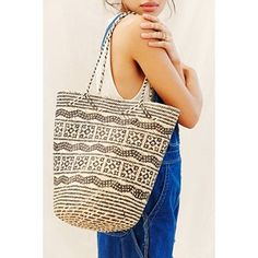 Urban Renewal Connected Ajat Rattan Shopper Bag