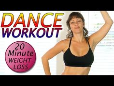 Dance Workout For Beginners at Home Cardio Weight Loss Aerobic Exercises - YouTube