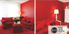 What do you think about this red room? Take a look for more design @ www.designaccommodation.com #design #red #peace Red Rooms, All Design, Germany, Peace, Home Decor, Decoration Home, Red Bedrooms, Room Decor, Deutsch