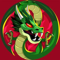 Custom Agar.io Skin Jade Dragon