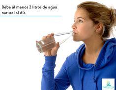 Bebiendo las cantidades recomendables de agua, el hígado, los riñones, el sistema digestivo e inmunológico cumplen muy bien con sus funciones, se lubrican las articulaciones y mejoran la resistencia de los ligamentos.