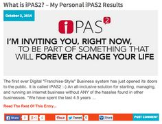 What is iPAS2? – My Personal iPAS2 Results: http://katielendel.com/ipas2-personal-ipas2-results/