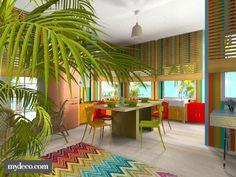 tropical kitchen. Kitchen. Other