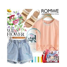 """""""*ROMWE* 8"""" by saaraa-21 ❤ liked on Polyvore featuring romwe, shop and polyvorefashion"""