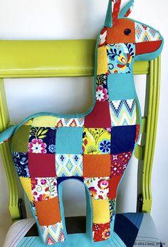 betz white llama pillow!  Cute!