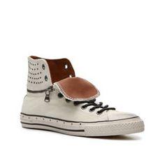 John Varvatos Leather Chucks