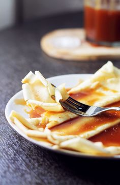 The best caramel sauce known to man, kicked up a notch with a shot of rye whiskey. The perfect topping for crepes and ice cream.