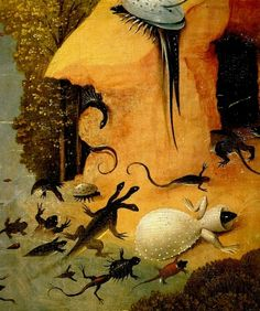 Hieronymus Bosch - The Garden of Earthly Delights detail