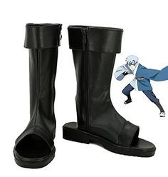 Boruto Naruto the Movie Mitsuki Cosplay Shoes Boots Custom Made ** For more information, visit image link.