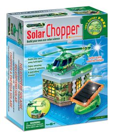 This Amazing Solar Chopper Kit by TEDCO is perfect! #zulilyfinds