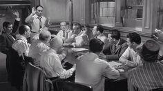 Una exploración a 12 Angry Men de Sidney Lumet, pero sin diálogos.