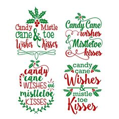 Mistletoe Candy Cuttable Design Cut File. Vector, Clipart, Digital Scrapbooking Download, Available in JPEG, PDF, EPS, DXF and SVG. Works with Cricut, Design Space, Cuts A Lot, Make the Cut!, Inkscape, CorelDraw, Adobe Illustrator, Silhouette Cameo, Brother ScanNCut and other software.