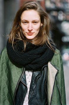 Vanessa Jackman: New York Fashion Week AW 2014....Franzi